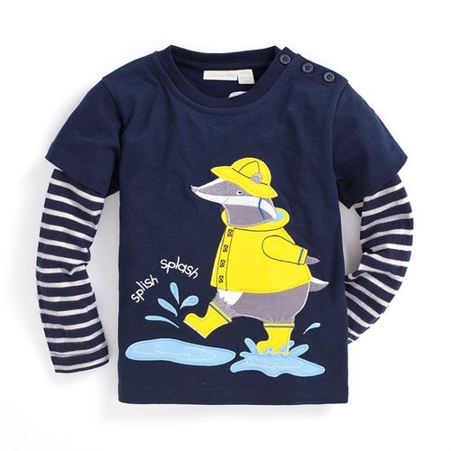 Camiseta rainy day badger JOJO MAMAN BÉBÉ