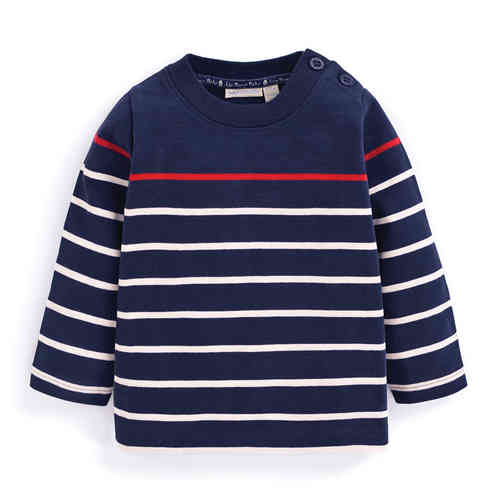 Camiseta long sleeved stripe JOJO MAMAN BÉBÉ