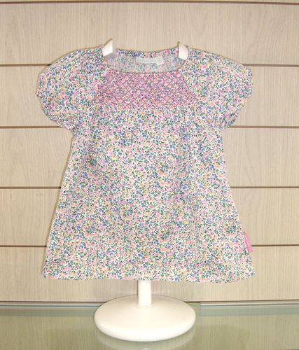 Camiseta smocked top JOJO MAMAN BÉBÉ
